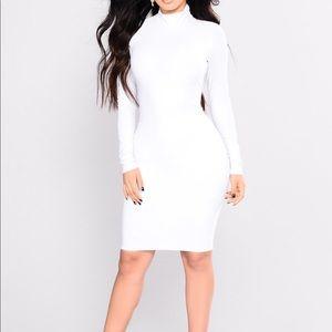 Brand New White Midi Dress